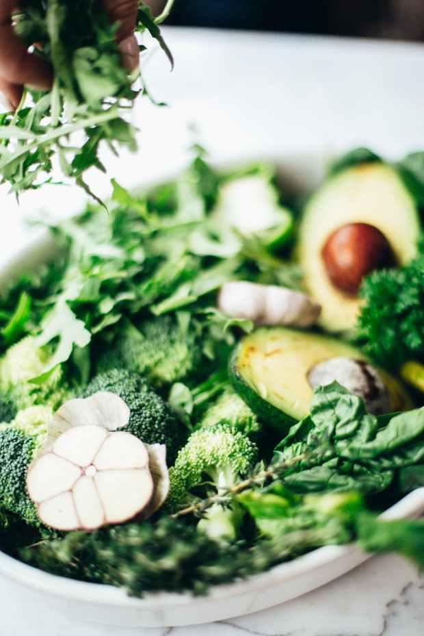 vegetable lot