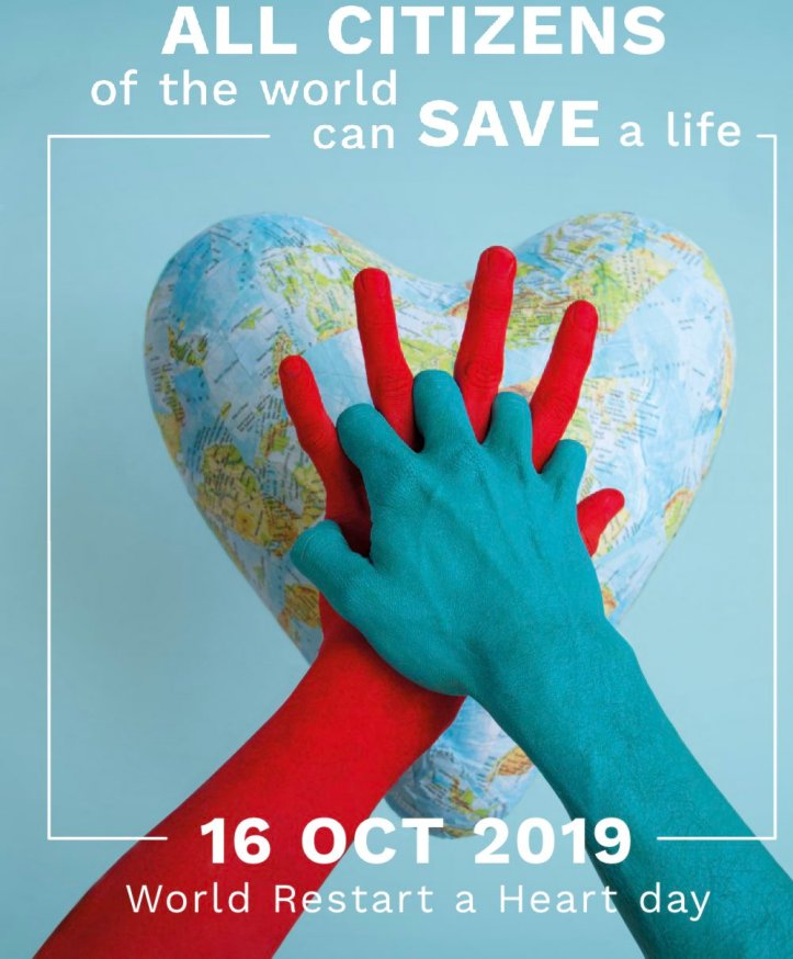 World Restart a Heart Day 2019